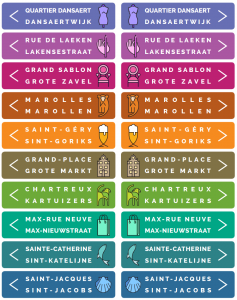 Signalétique quartiers